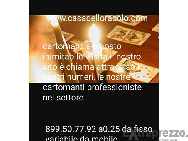 cartomanzia a basso costo a soli 0,25 cent al minuto su www.casadelloracolo.com