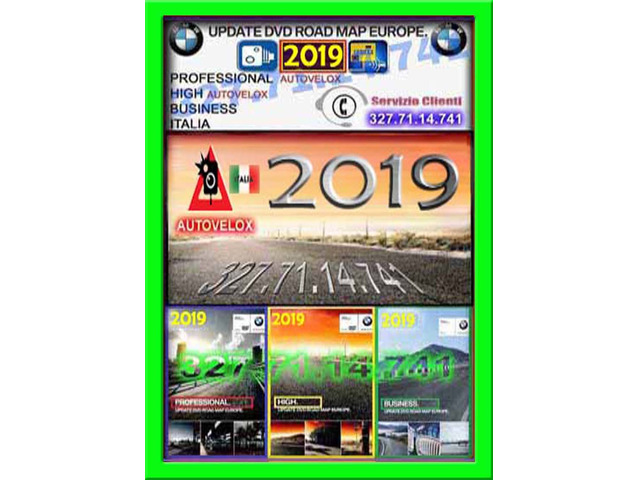 CD DVD BMW 2019 MAPPE AGGIORNAMENTO NAVIGATORE BMW 2019 MAPPA