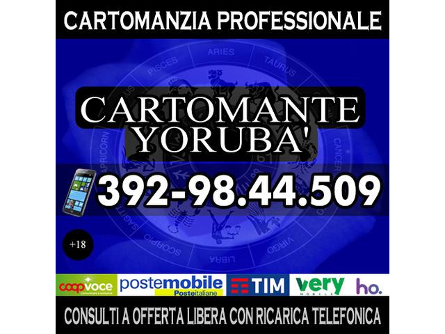 Consulti telefonici con offerta libera ricarica telefonica - il Cartomante Yorubà