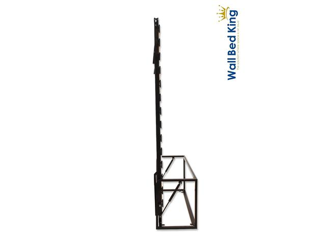 Letto doppio verticale a scomparsa ribaltabile a muro