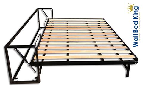 Elettrodomestici - mobili - Letto extralarge orizzontale a scomparsa ribaltabile a muro