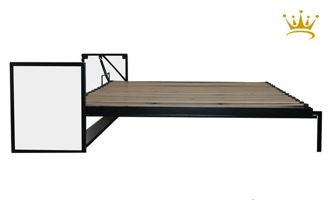 Elettrodomestici - mobili - Letto studio extralarge orizzontale a scomparsa ribaltabile a muro