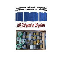 Vendita stock ferramenta mista brico 100.000 pezzi