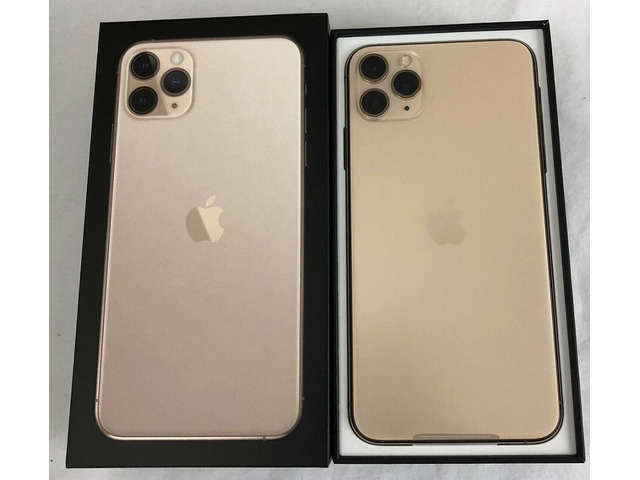 Apple iPhone 11 Pro 64GB €500,iPhone 11 Pro Max 64GB €530 ,iPhone XS64GB €350