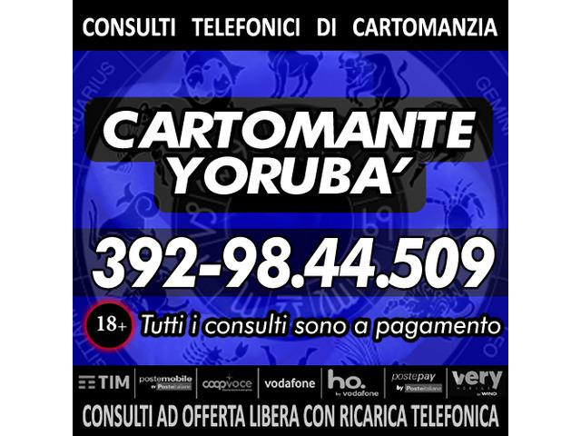 Il Cartomante YORUBA - Consulto di Cartomanzia