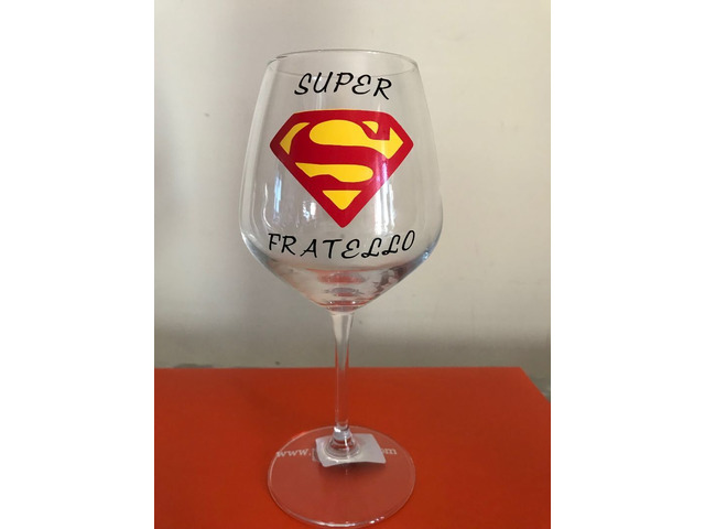 Bicchiere vino Super Fratello