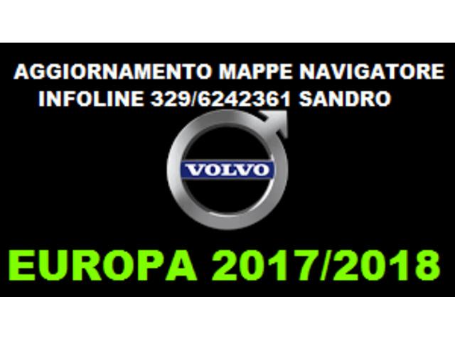 VOLVO DVD AGGIORNAMENTO NAVIGATORE EUROPA 2017/2018