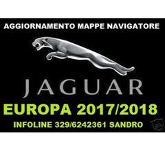 JAGUAR XK E XF DVD AGGIORNAMENTO MAPPE NAVIGATORE EUROPA 2017/2018