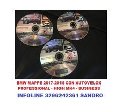 BMW PROFESSIONAL AGGIORNAMENTO NAVIGATORE 2017/2018 CON AUTOVELOX