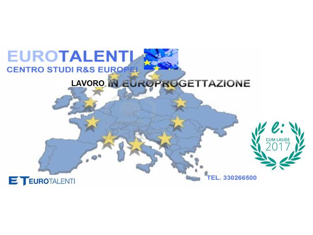 Scopri il TALENTO che c'è in te.Partecipa ai Progetti Europei di EURO-TALENTI