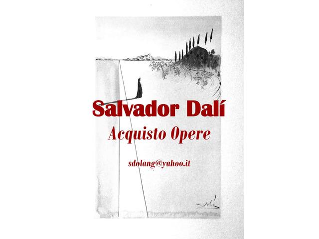 Salvador Dalì: acquisto, litografie, quadri