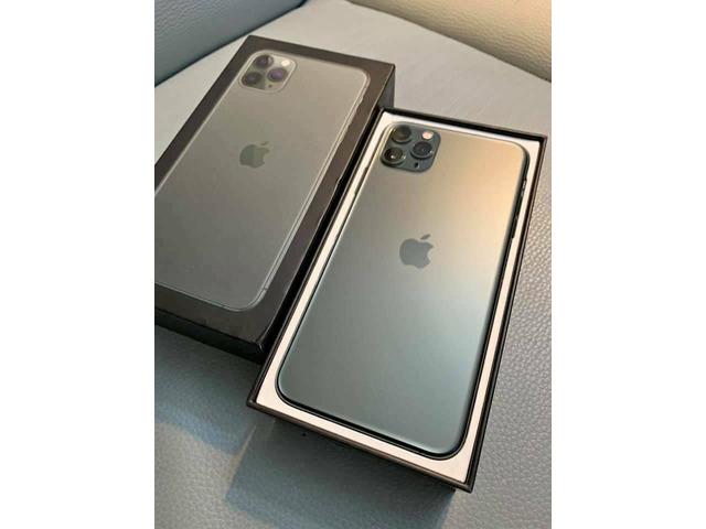 Apple iPhone 11 Pro 64GB €500,iPhone 11 Pro Max 64GB €530 ,iPhone 1164GB €400