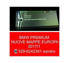 BMW ROAD MAP PREMIUM EUROPA 2018 AGGIORNAMENTO MAPPE NAVIGATORE