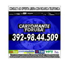 Il Cartomante YORUBA' non vende illusioni ma solidi responsi