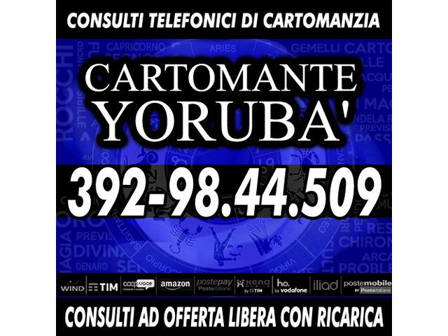 Richiedi ora un consulto di Cartomanzia con il Cartomante YORUBA'