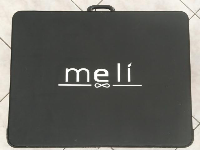N. 4 valigie per campioni per calzature donna nuove.