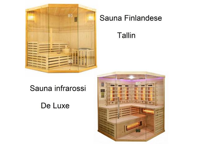 Saune infrarossi e finlandese