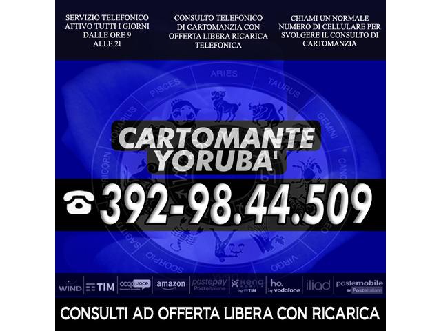 Non chiamare gli 899, perdi solo tempo e denaro, chiama il Cartomante YORUBA'