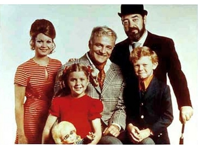 Tre nipoti e un maggiordomo serie tv completa anni 60