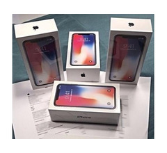 Apple iPhone X 64GB per €350 ,iPhone X 256GB per €380,iPhone 8 64GB €280