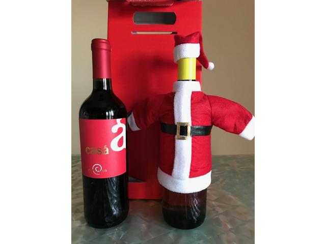 Vino Aglianico Bottiglia Babbo Natale