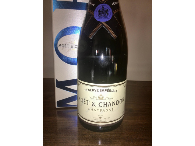 Champagne Moet & Chandon Reserve Imperiale 75 cl in Astuccio