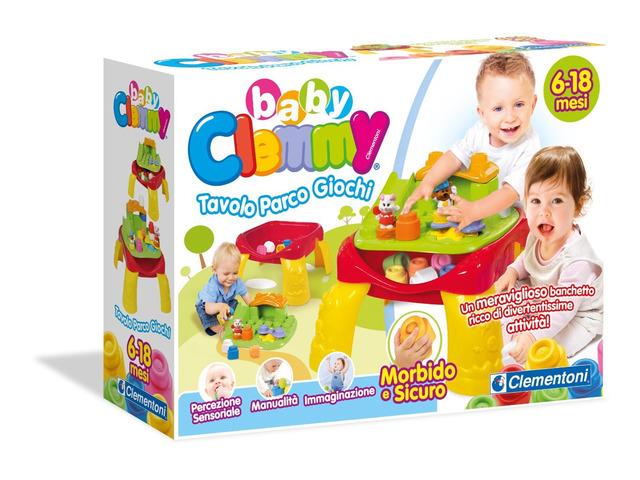 Prodotti per l'infanzia - Tavolino parco giochi baby clemmy clementoni