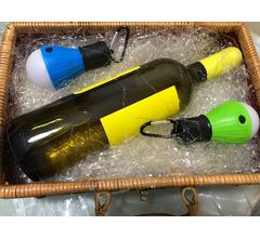 Cestino regalo vino + lampadine