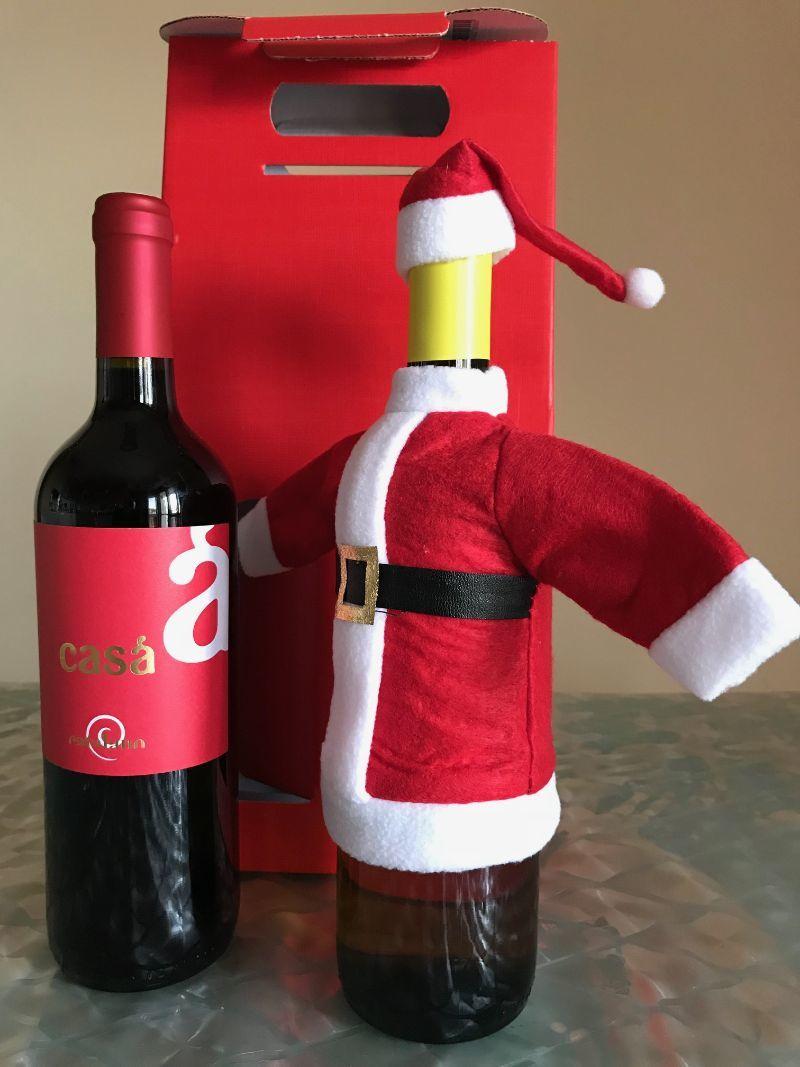 Altro - Bottiglia Vino Babbo Natale