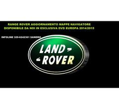 range rover sport aggiornamento mappe navigatore