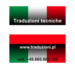 polacco - traduzione dei manuali tecnici dall'italiano al polacco