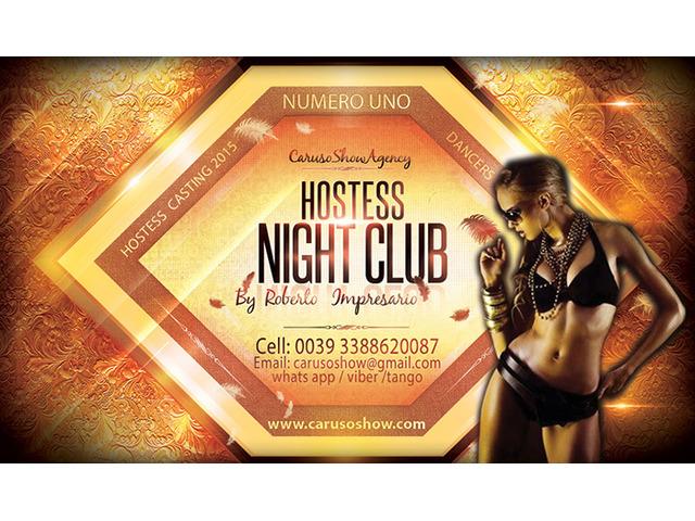 lavoro offro a ragazza cerco hostess figurante di sala per night club e locali serali