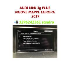 AUDI MMI 3G AGGIORNAMENTO MAPPE NAVIGATORE EUROPA 2019/20