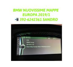 BMW MINI AGGIORNAMENTO MAPPE NAVIGATORE EUROPA 2019