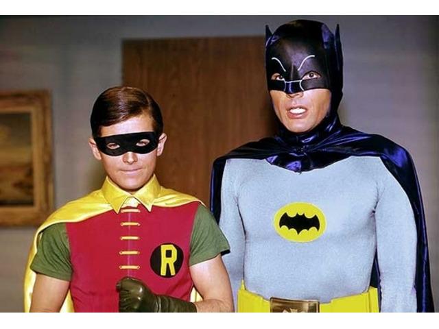 Batman e robin telefilm completo anni 60 - Adam West