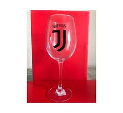 Calice vino Juventus