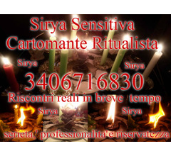 SENSITIVA CARTOMANTE SIRYA