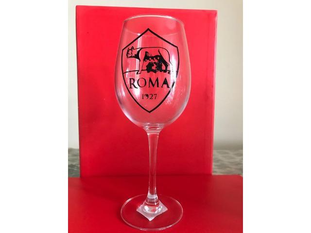 Calice vino rosso portafortuna Roma