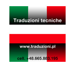 Interprete italiano polacco - traduzioni tecniche e consulenze aziendali in Polonia