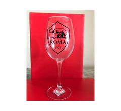 Bicchiere calice vino Roma