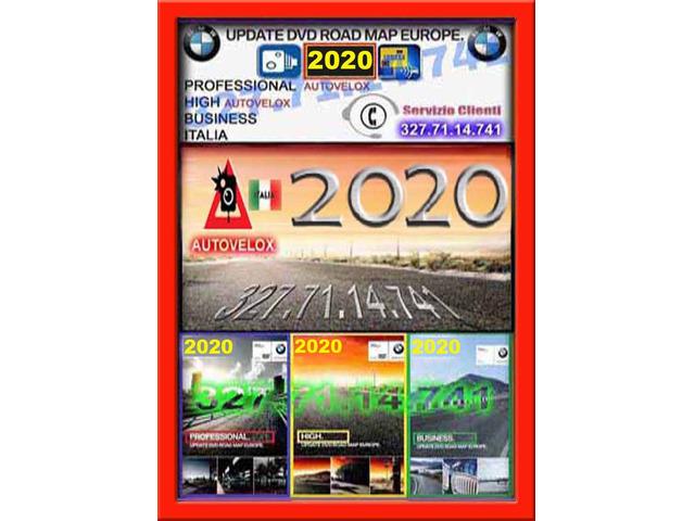 NAVIGAZIONE BMW 2020 CD DVD USB AGGIORNAMENTO MAPPA NAVIGATORE