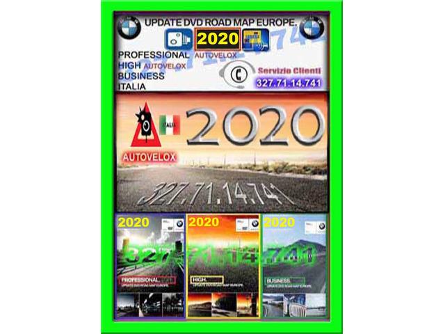 Dvd Cd Usb bmw 2020 navigazione professional high business mappa-navigatore  aggiornamento