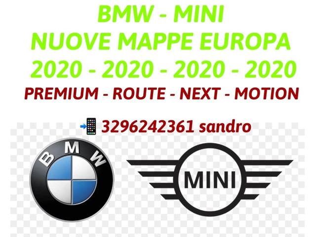 BMW MINI AGGIORNAMENTO MAPPE NAVIGATORE PREMIUM MOVE NEXT EVO ROUTE MOTION