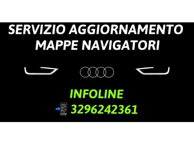 AUDI AGGIORNAMENTO MAPPE NAVIGATORE