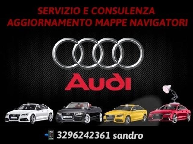 AUDI AGGIORNAMENTO MAPPE NAVIGATORE AUTO
