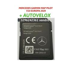 Mercedes garmin map pilot memory mappe con velox aggiornamento mappe navigatore