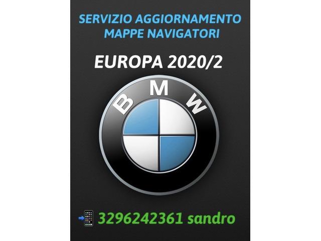 BMW AGGIORNAMENTO MAPPE NAVIGATORI AUTO