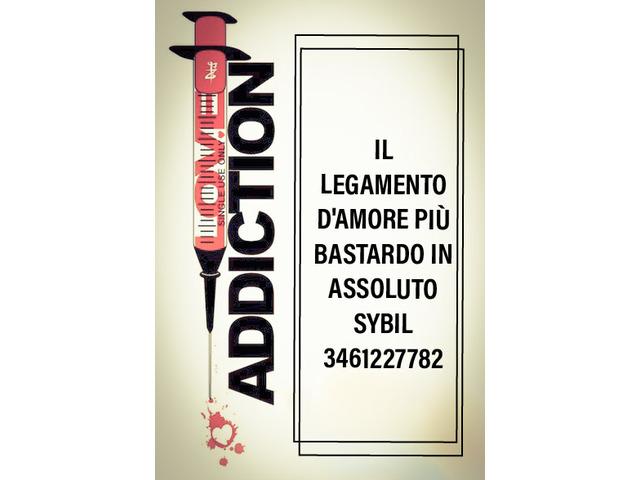 Oroscopi - tarocchi - LOVE ADDICTION Il Legamento damore più BASTARDO in assoluto 3461227782 SYBIL