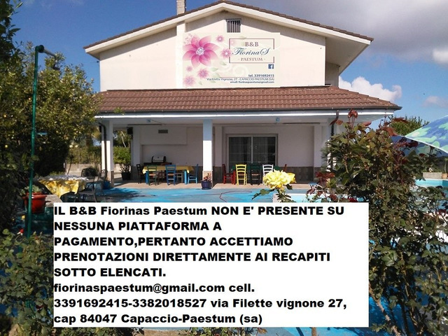 Bed and Breakfast Fiorinas Paestum