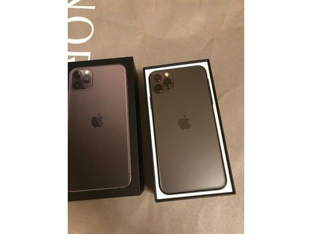 Apple iPhone 11 Pro 64GB - 400 EUR e iPhone 11 Pro Max 64GB - 430 e iPhone 11 64GB €350